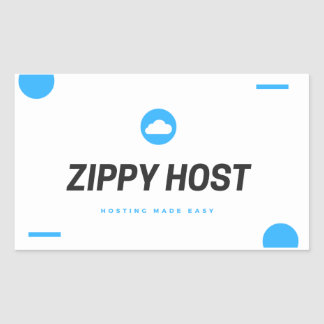 Zippy Host Sticker