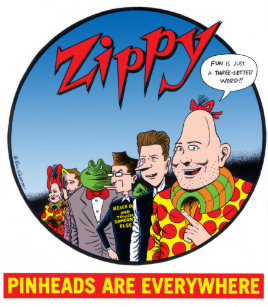 zippy the pinhead gifts on zazzle