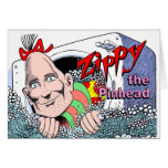 Zippy Spin Dr. Holiday Card