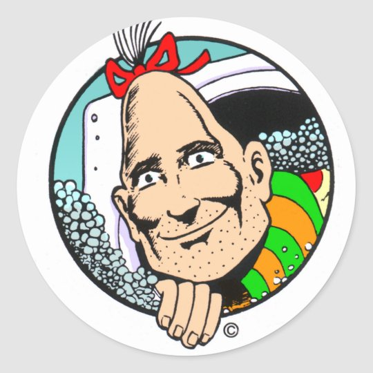 Zippy the Pinhead Classic Round Sticker