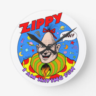 Zippy Wall Clock