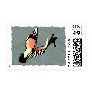 Zippy Zebra Slings Stamp