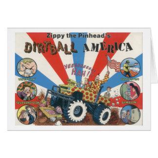 Zippy's Dirtball America Notecard