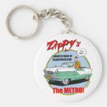 Zippy's Metro Key Chains