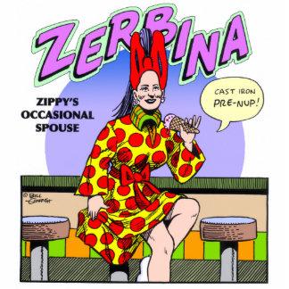 Zippy's occasional spouse, Zerbina Standing Photo Sculpture