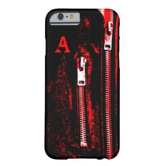 Zips Red print Monogram iPhone 6 case