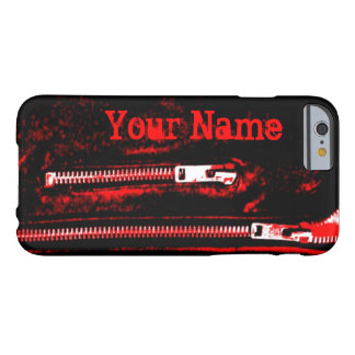 Zips Red print Name iPhone 6 case