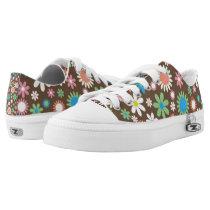 Zipz Athletic Shoes - Flower Power Design