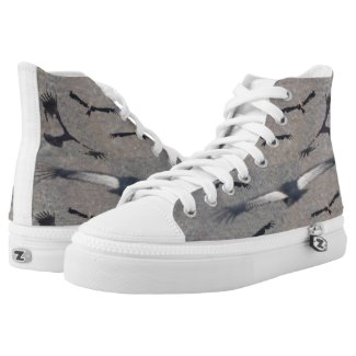 Zipz High Top Shoes Condor Printed Shoes