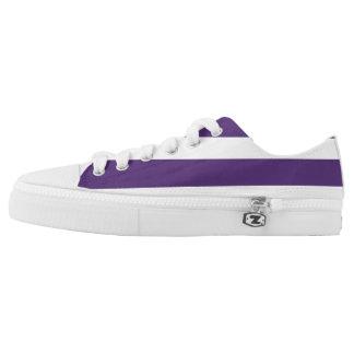Zipz Low Top Shoes, Bande Violet
