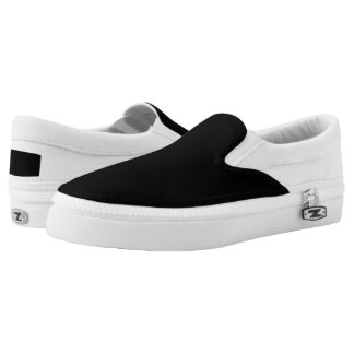 Zipz Slip On Shoes for Men & Women Create Your Own Printed Shoes