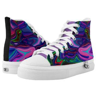 Zipz Sneakers  Ludi Barrs Original Designs! Printed Shoes