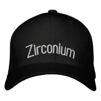 Zirconium Embroidered Baseball Cap