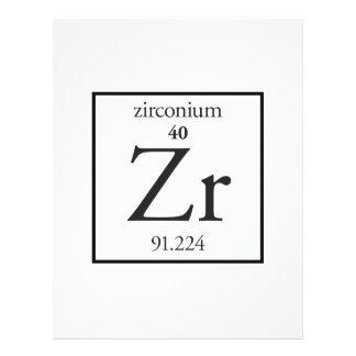 Zirconium Personalized Flyer