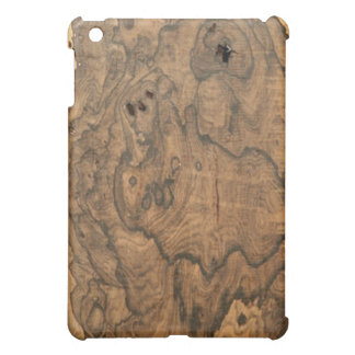 Ziricote (faux) Finish iPad case