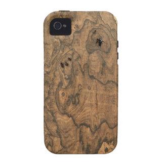 Ziricote (faux) Finish iPhone 4 case