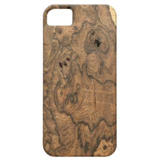 Ziricote (faux) Finish iPhone 5 case