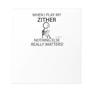 Zither Nothing Else Matters Scratch Pad