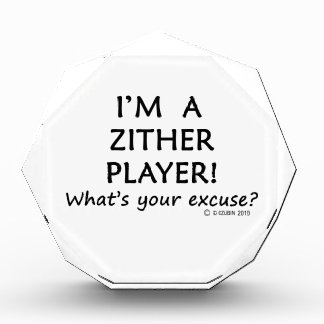 Zither Player Excuse Award