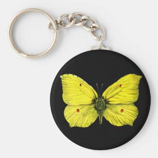 Zitronenfalter Keychain