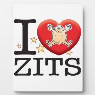 Zits Love Man Plaque