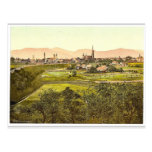 Zittau with mountains, seen from Eckartsberg, Saxo Post Cards