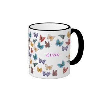 Ziva Ringer Coffee Mug