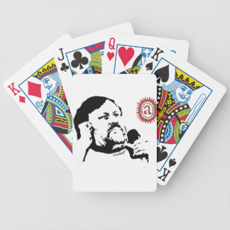 Zizek contemplating the objet petit a: The T-shirt Bicycle Playing Cards