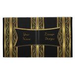 Zizzago Ipad Case Gold Black