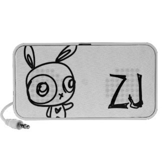 ZJ brand rabbit doodle speaker