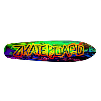 Zkateboard Psychedelic Deck Design