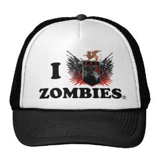 ZKE I Love Zombie Hat