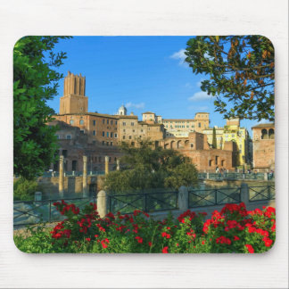 zL_italy_forum_romano_flowers_day Mouse Pad