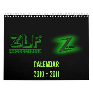 ZLF Productions/ Z Radio Live Calendar 2010 - 2011