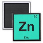 Zn - elemento del símbolo de la tabla periódica de