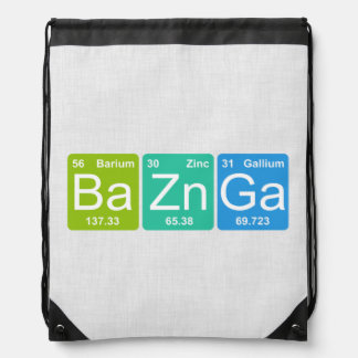 ¡Zn GA de los vagos Bolso de lazo de los elemento