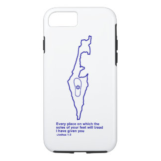 Zo Artzeinu - Joshua 1:3 iPhone 7 Case