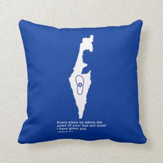 Zo Artzeinu - Joshua 1:3 Throw Pillows