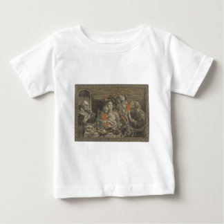 Zo d'ouden zongen, zo pijpen (piepen) de jongen, a baby T-Shirt