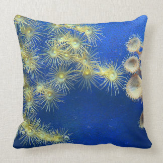 Zoanthid/Yellow Polyp Corals Pillow
