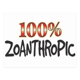 Zoanthropic 100 Percent Postcard