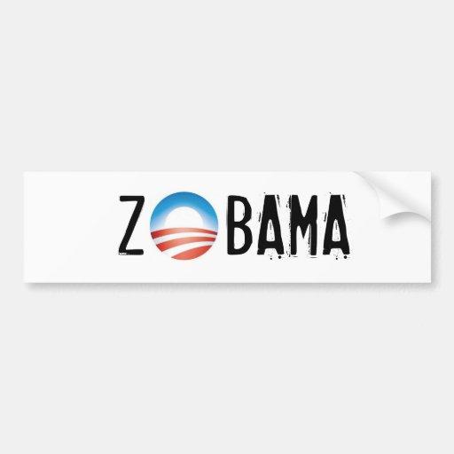 ZOBAMA - Zombie Obama Bumper Sticker