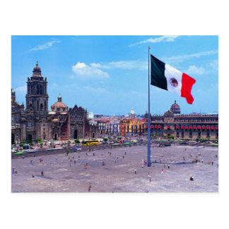 Zocalo, Ciudad de México, México Postales