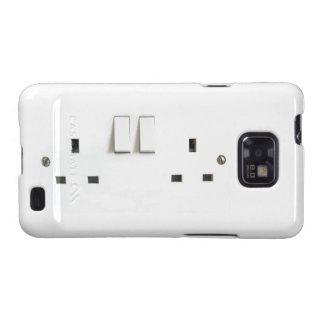 Zócalo eléctrico del Reino Unido Galaxy SII Carcasa
