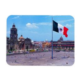 Zocalo, Mexico City, Mexico Magnet