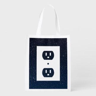 Zócalos eléctricos gráficos bolsas para la compra
