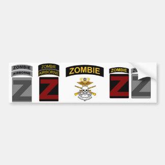 ZOCOM Unit Patch and Skill Tab Decals 1 Car Bumper Sticker