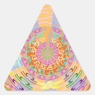 ZODIA Libra Shining Stars Triangle Stickers