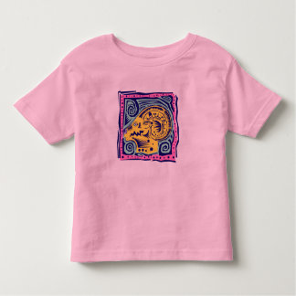 Zodia Sign : Aries Toddler T-shirt
