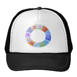 Zodiac Aqua Ring Trucker Hat